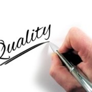 Word: Quality - written by hand