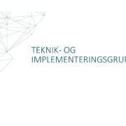 Teknik og Implementeringsgruppen - Datahub